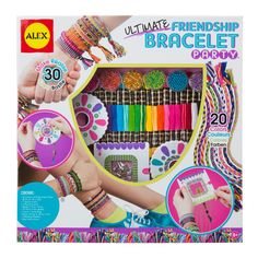 Alex Toys Ultimate Friendship Bracelet Party Kit