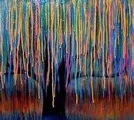 Tree Crayon art