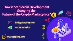 How is Stablecoin Development changing the future of Crypto marketplace? Check this link and learn more... #cryptocurrency #stablecoin #stablecoindevelopment #cryptostablecoin #createyourownstablecoin #cryptotrading #cryptomarketplace #entrepreneurs #startups Security Token, Link And Learn, Crypto Market, Blockchain Technology, Startups, Cryptocurrency, Entrepreneur, Investing, Change