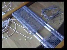 Cómo hacer un peine para un telar, (2)