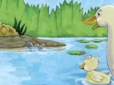 Little Quack by Lauren Thompson, ill. by Derek Anderson - Will Little Quack join his family? Count along and find out. Reading Street Kindergarten, Kindergarten Activities, Book Activities, Online Stories, Books Online, 2nd Grade Books, Math Literature, Digital Story, School Videos