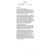 Alaska - State Law Card Insert