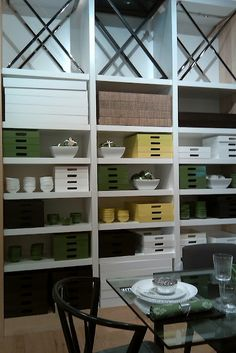 full height visual merchandisng - at West Elm - Downtown Miami 2011