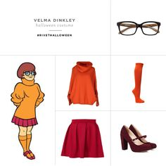 Halloween Costume Ideas With Glasses | Velma Dinkley