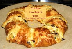 Michelle's Tasty Creations: Chicken Cranberry Ring