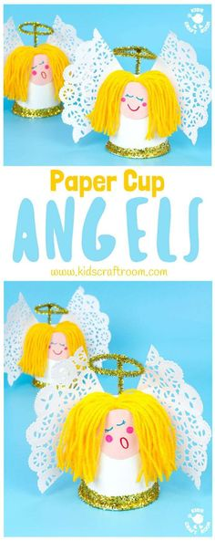 Do It Yourself Pet Property Guidance And Schematic Data This Pretty Paper Cup Angel Craft Is Easy To Make And Looks Darling Decorate The Mantlepiece, Use As A Christmas Tree Topper Or Hang Them As Ornaments A Fun Christmas Craft For Preschoolers. Christmas Angel Crafts, Preschool Christmas Crafts, Christmas Crafts For Kids To Make, Christmas Activities For Kids, Craft Activities For Kids, Christmas Tree Toppers, Kids Christmas, Holiday Crafts, July Crafts