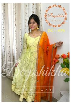 Simple Kurti Designs, Kurta Designs Women, Salwar Designs, Blouse Designs, Stylish Dresses For Girls, Frocks For Girls, Ladies Dresses, Long Gown Dress, Long Gowns
