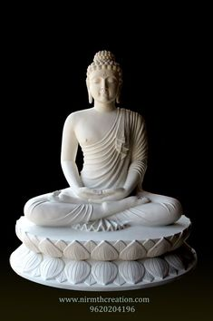 Buddha Statue in FRP Fiberglass Reinforced Plastic material. Budha Statue, Buddha Statue Home, Meditating Buddha Statue, Sitting Buddha, Buddha Decor, Buddha Art, Buda Painting, Buddhism Wallpaper, Lord Buddha Wallpapers