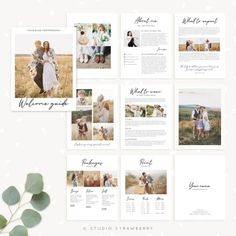 Get access to our entire template library – Strawberry Kit Photography Brochure, Photography Templates, Photography Marketing, Free Photography, Photography Business, Boudoir Photography, Family Photography, Wedding Photography, Photography Magazine