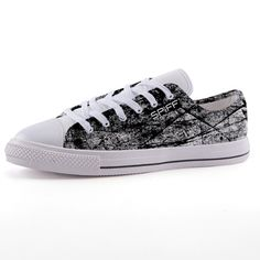 Full canvas double sided print with rounded toe construction. Lace-up closure for a snug fit. Metal eyelets for a classic look. Chuck Taylor Sneakers, Classic Looks, Front Row, Snug Fit, Lace Up, Louis Vuitton, Shoes, Fashion, Classy Looks
