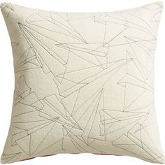 wing it pillow | CB2