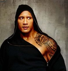 Dwayne Johnson- resistance is futile.