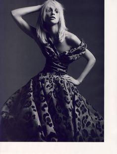 Vogue Paris April 2008, Sasha Pivovarova