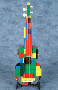 TOFUKULELE SOPRANO UKE. constructed of Lego® brick! and you can actually play it!