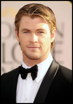 Chris Hemsworth... He cleans up very well. ;)