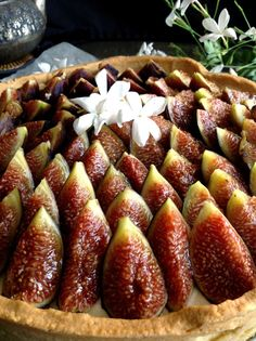 Fig Recipes, Tart Recipes, Sweet Recipes, Dessert Recipes, Cooking Recipes, Desserts Around The World, Fig Tart, Queen Cakes, Summer Pie
