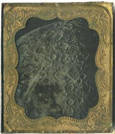 Jean Roulet cased ambrotype of the moon, 1870
