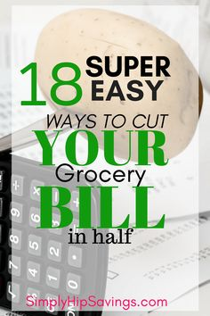 Are you looking to save money on your groceries? Add some money back into your budget? I've got the solution for YOU! Check out my list of 18 Resourceful, Simple and Start ways to save on groceries. Start Saving TODAY! www.simplyhipsavings.com