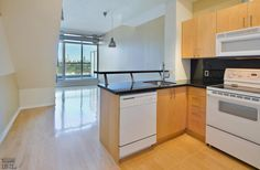 District Lofts-388 Richmond St W #717  | 800+/- sf Demand 2 level, 2 bedroom thru-suite with dual North & South exposures & private balcony! Features floor to ceiling windows, upgraded wood floors on both levels + stairs, granite counters with breakfast bar and custom built-in master bedroom closet! Also includes 1 owned pkg. | More info here: torontolofts.ca/district-lofts-lofts-for-rent/388-richmond-st-w-717-1 2 Bedroom For Rent, Toronto Lofts, Rent To Own Homes, Lofts For Rent, Master Bedroom Closet, North South, Floor To Ceiling Windows, Granite Counters, Home Buying