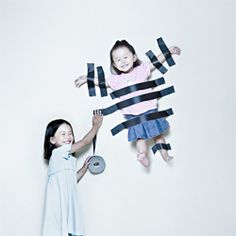 Dad Takes Playful Photos of his Daughters. By photographer Jason Lee.
