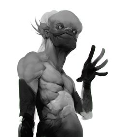 I have your attention - Concept character design by Garciar
