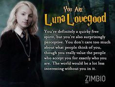 I got Luna!! I always liked her
