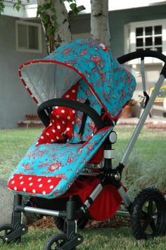 Such a cute stroller cover