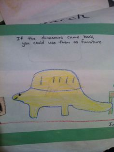 16 Adorably Concerning Kid Drawings