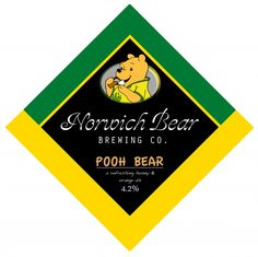 Norwich Bear Brewing Co. Pooh Bear, Strawberry Blonde, Brewing Co, Strawberries, Ale, Coconut, British, Fruit, Flower