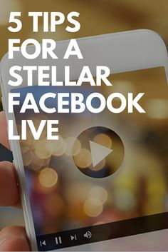 5 Tips for a Stellar Facebook Live  Social Media Marketing | Digital Marketing | Facebook Marketing Ideas | Dublin, Ohio | Columbus, Ohio | Central Ohio | Content Marketing Ideas | How to Use Facebook Live | Video Marketing