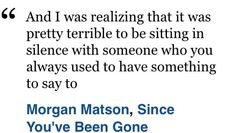 Since you've been gone-Morgan matson