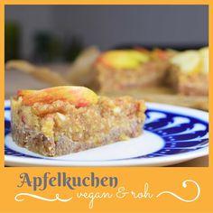 Apfelkuchen - zwar roh und vegan, aber trotzdem wärmend an nassen Herbststagen <3  #vegan #whatveganseat #veganfood #rawvegan #roh #raw #autumn #herbst #zimt #apfel #kuchen #veganeprinzessin #vegetarisch #veganforfun #dessert #cake Roh Vegan, French Toast, Sweets, Breakfast, Desserts, Food, Raw Cake, Baking, Cinnamon Roll Apple Pie