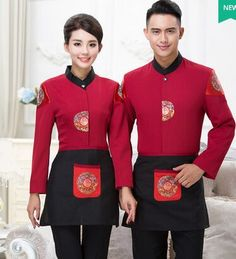 chinese restaurant uniform for waiter chinese hotel uniform restaurant waiter uniforms restaurant work wear uniform