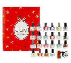Mini nail polishes...Perfect gift...got this set on QVC for my niece! She loved it!!
