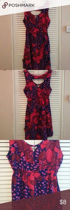 Delia's junior summer dress size medium 100% rayon.  Very lightweight. Elasticized waistband. delia's Dresses Midi