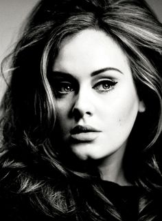 Adele has such an amazing voice, you can't help but love her music! Christina Perri, Kat Von D, Pretty People, Beautiful People, Beautiful Voice, Amazing People, Beautiful Women, Adele Rolling, Adele Photos
