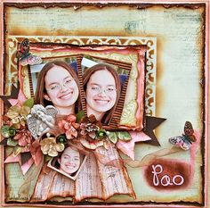 I do not care for the use of the same 3 pics but I like the layout. Pao-My Creative Scrapbook Nov Kit - Scrapbook.com