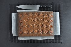 Chocolate Banana Jam Brownie from Our Kitchen at Fisher & Paykel. The combo of banana and ridiculously rich, sticky chocolate is so good. Just like a perky nana only, well made of real food. Probably still not considered food for the health of the body but undeniably food for the health of the soul