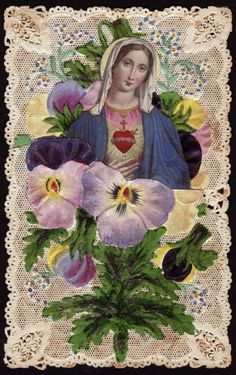 Mary of the Pansies
