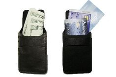 This compact wallet is available for the person on the go.