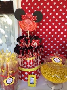 Vintage Minnie Party Sweetanniesbakedgoods.com