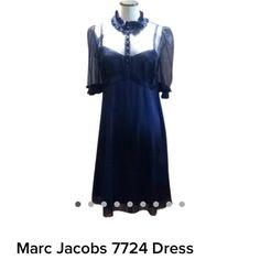 Marc Jacobs Navy Blue Dress Marc Jacobs Navy Blue Dress Marc Jacobs Dresses Midi