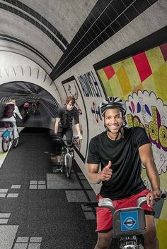 In London, An Empty Underground Tunnel Could Become A Cyclist's Paradise