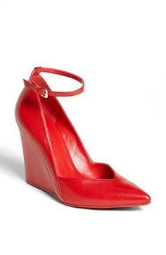 Valentine's Day shoes  Nine West 'Eviee' Leather Wedge Pump | Nordstrom