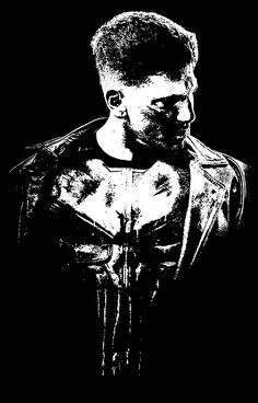 Punisher (Justiceiro) by Marcos V. Ferreira