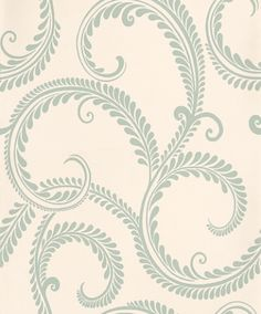 Marchmont Duck Egg (3476072) - Laura Ashley Wallpapers - A classical and intricate grecian leaf design in duck egg blue green on cream with shimmering pearlescent inks. Additional colourways also available. Please request a sample for true colour match.