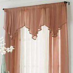 cortinas para sala con cenefas - Buscar con Google