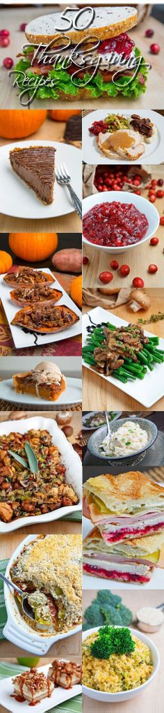 50 Thanksgiving Recipes - A lot of these look amazing..jpg