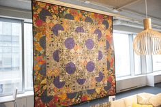 The New York chapter of the IIDA hosted its ninth annual Sustainable Quilt Auction on March 15 at the Steelcase ...