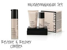 Mary Kay Microdermabrasion - moisturizer & foundation goes on so much smoother after.